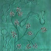 Sakura, Nr. 15b Kosta (verkauft) Artwork