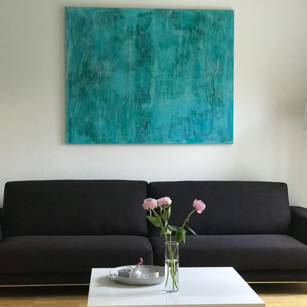 Foto von Turquoise Series Nr. 35b