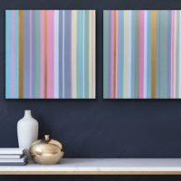 Stripes Series Nr. 202&203